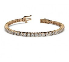 Natural Diamond Bracelets 5.30 CT / 13.04 gm Gold