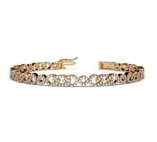 Natural Diamond Bracelets 1.97 CT / 16.60 gm Gold