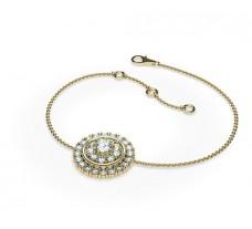 Natural Diamond Bracelets 0.56 CT / 5.35 gm Gold