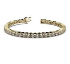 Natural Diamond Bracelets 5.72 CT / 14.38 gm Gold