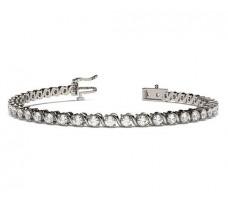 Natural Diamond Bracelets 2.73 CT / 13.00 gm Gold
