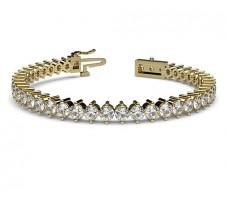 Natural Diamond Bracelets 8.64 CT / 21.2 gm Gold