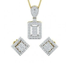 Diamond Set - 0.84 CT / 5.20 gm Gold