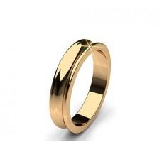 Plain Gold Band Ring 5.88 gm 18k