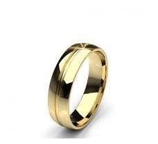 Plain Gold Men's Band Ring 5.28 gm 18k
