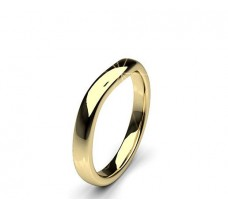 Plain Gold Band Ring 3.30 gm 18k