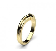 Plain Gold Band Ring 4.60 gm 18k