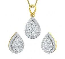 Diamond Pendant Half Set - 1.27 CT / 6.95 gm Gold
