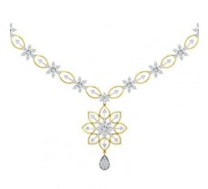 Diamond Necklace 2.09 CT / 14.19 gm Gold