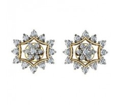 Diamond Earrings 1.1 CT / 10.68 gm Gold