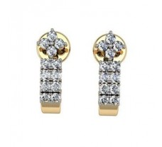 Diamond Earrings 0.48 CT /  3.5 gm Gold