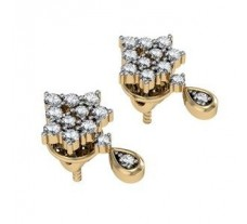 Diamond Earrings 0.44 CT / 2.91 gm Gold
