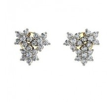 Diamond Earrings 1.14 CT / 5.52 gm Gold