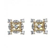 Diamond Earrings 0.50 CT /  4.2 gm Gold