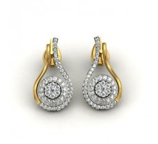 Diamond Earrings 1.17 CT / 8.00 gm GOLD