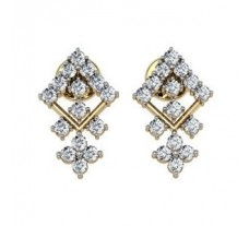 Diamond Earrings 0.59 CT /  3.18 gm Gold