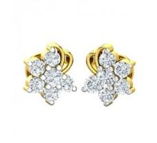 Diamond Earrings 0.33 CT / 3.48 gm Gold