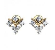 Diamond Earrings 0.33 CT / 2.43 gm Gold