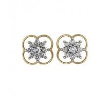 Diamond Earrings 0.88 CT / 5.92 gm Gold