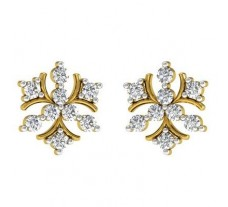 Diamond Earrings 0.54 CT /  3.24 gm Gold