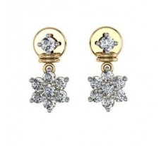 Diamond Earrings 0.43 CT / 6.31 gm Gold
