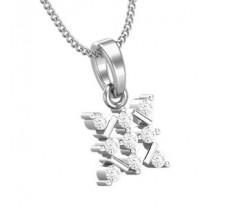 Natural Diamond Pendant 0.18 CT / 1.00 gm Gold