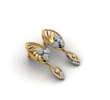 Diamond Earrings 0.75 CT / 9 gm Gold