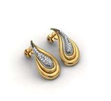 Diamond Earrings 0.33 CT /  6 gm Gold