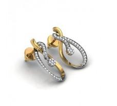 Diamond Earrings 0.94 CT /  2.5 gm Gold