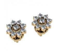 Diamond Earrings 1.84 CT / 5.73 gm GOLD