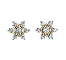 Diamond Earrings  1.60 CT / 7.68 gm Gold