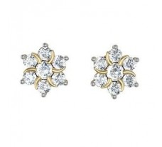 Diamond Earrings  0.88 CT / 5.02 gm Gold