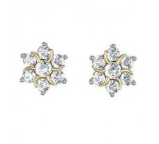 Diamond Earrings  0.88 CT / 5.02 gm Gold