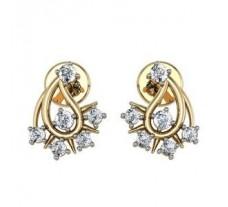 Diamond Earrings 0.22 CT / 4.96 gm GOLD