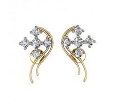 Diamond Earrings 0.76 CT / 5.30 gm Gold
