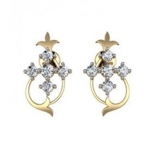 Diamond Earrings 0.76 CT / 6.85 gm Gold