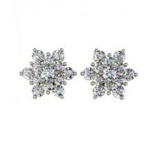 Diamond Earrings 1.40 CT / 5.72 gm Gold