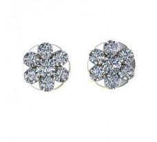Diamond Earrings 0.48 CT / 3.90 gm Gold