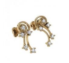 Diamond Earrings 0.17 CT / 3.52 gm Gold