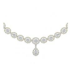 Diamond  Necklace 1.98 CT / 28.50 gm Gold