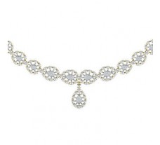 Diamond  Necklace 2.11 CT / 30.50 gm Gold