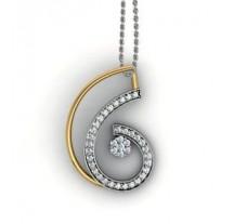 Natural Diamond Pendant 0.50 CT / 3.00 gm Gold
