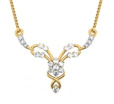 Natural Diamond Tanmaniya 0.31 CT / 1.40 gm Gold