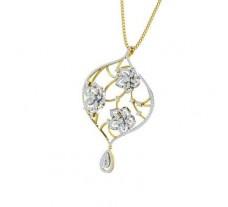Natural Diamond Pendant 2.37 CT / 9.52 gm Gold