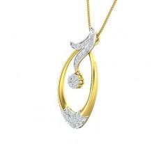 Natural Diamond Pendant 0.62 CT / 2.63 gm GOLD