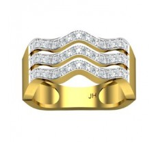 Natural Diamond Band 0.43 CT / 5.21 gm Gold