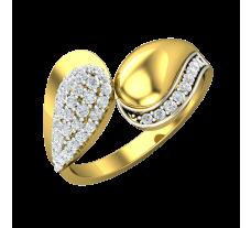 Natural Diamond Designer Ring 0.42 CT / 2.99 gm Gold