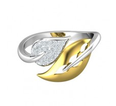 Natural Diamond Designer Ring 0.11 CT / 2.92 gm Gold
