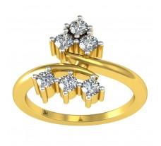 Natural Diamond Ring 0.36 CT / 4.09 gm Gold