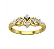 Natural Diamond Ring 0.24 CT / 2.75 gm Gold